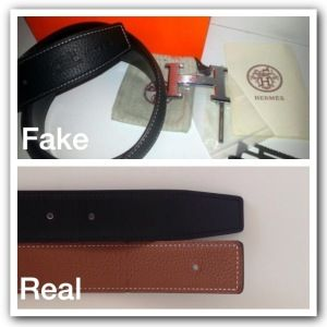 how to spot a fake hermes belt buckle